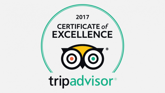 Award Winning Bed & Breakfast with Trip Advisor!